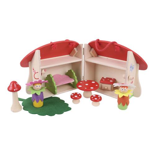 Speelset Paddenstoel Bigjigs bij Elly's Speelgoedkraam: https://www.ellysspeelgoedkraam.nl/lieve-houten-huisjes/speelset...