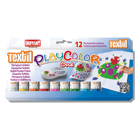 | Playcolor Textielverf 12-delig